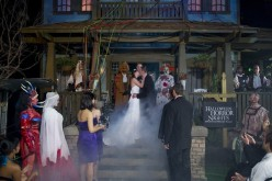 """FEARly beloved"", Universal Orlando holds first Halloween Horror Nights Wedding"