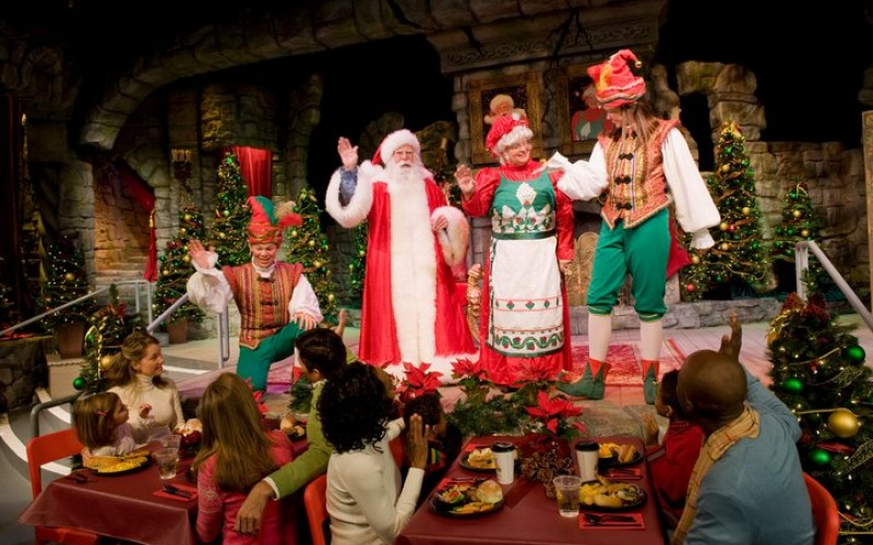 Behind The Thrills Christmas Town Begins Friday At Busch