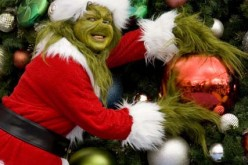 The Grinch prepares for Christmas at Universal Orlando