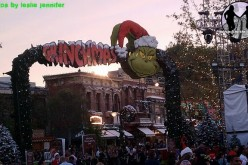 The Grinch comes to Universal Studios Hollywood