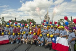 Trapped Chilean Miners embrace new, magic memories at Walt Disney World