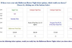 Halloween Horror Nights 2011 survey pitches idea for new Frequent Fear Pass