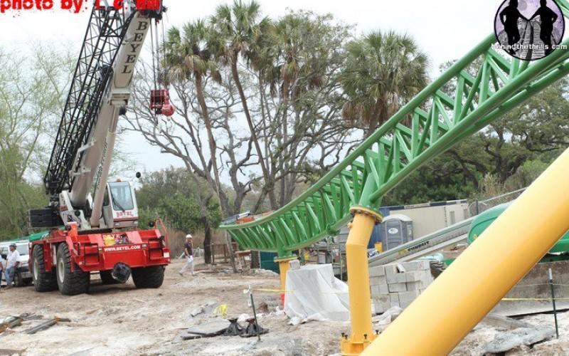 Cheetah Hunt Construction Update 2-3-11