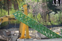 Cheetah Hunt Construction Update 3-14-11: Track is complete