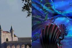 Behind the scenes of WDW & DL: Beast's Castle & The Little Mermaid