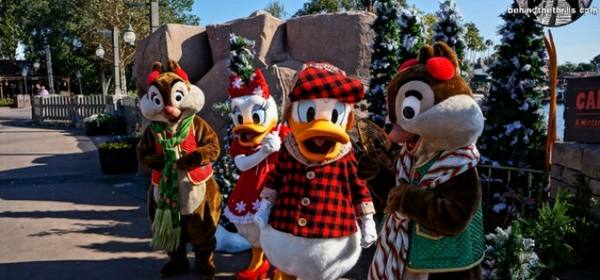 Limited Time Magic Brings at Winter Wonderland to Epcot