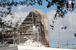 Penguin Rock starts to take shape as Antarctica nears completion at SeaWorld Orlando