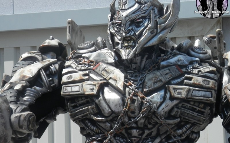 Megatron wreaks havoc at Universal Studios Florida as hype builds for Transformers:The Ride