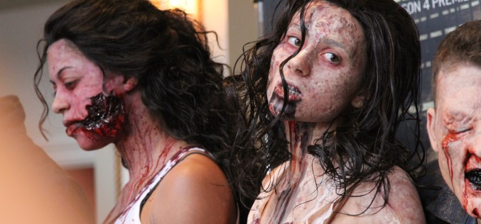 Behind The Scenes Halloween Horror Nights Hollywood 2013 – Extreme Horror Make-up