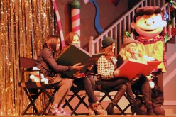 Teen Stars Ring in The Holidays at Knott's Merry Farm