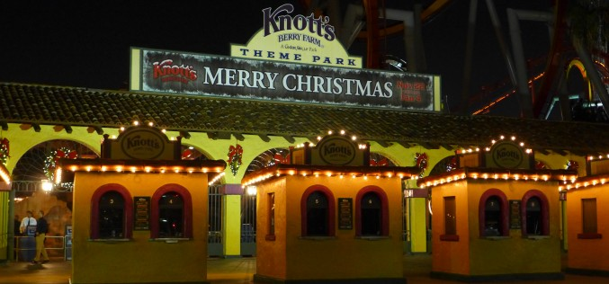 Knott's Berry Farm Celebrates Traditional Holiday Festivities at Merry Farm 2014