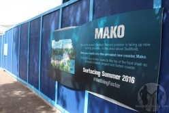 Mako begins the long journey to the surface at SeaWorld Orlando