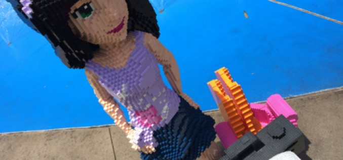 Lego Friends premiere at Legoland California in all new Heartlake City area!