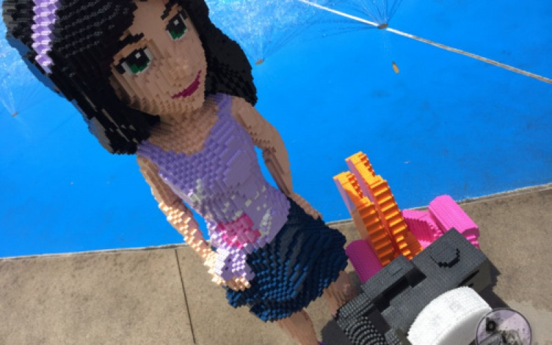 Lego Friends premiere at Legoland California in all new Heartlake City area!