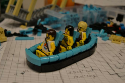 Verruckt-the world's tallest waterslide gets reconstructed in Lego bricks