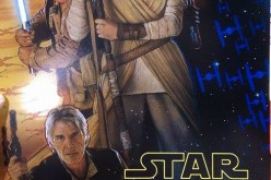 D23: Star Wars-The Force Awaken poster, by Drew Struzan given to D23 attendees