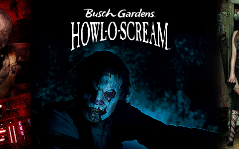 Behind the thrills choose your favorite howl o scream icon to pose with at busch gardens tampa for Busch gardens tampa howl o scream