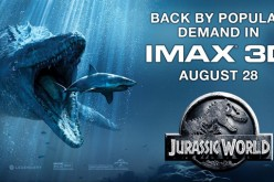 Jurassic World to return to IMAX 3D for one week!