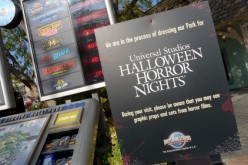 Horror takes to the streets as Universal Studios Hollywood gets scare zones ready for HHN!