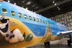 New Frozen themed jet hitting the skies from WestJet