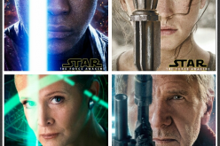Character posters unveiled for The Force Awakens!