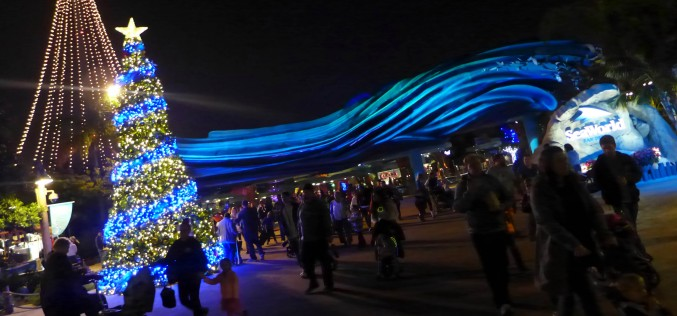 The Holidays Remain Bright at SeaWorld San Diego in 2015!