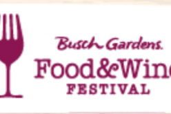 Busch Gardens Tampa unveils concert line up for 2016 Food & Wine Festival!