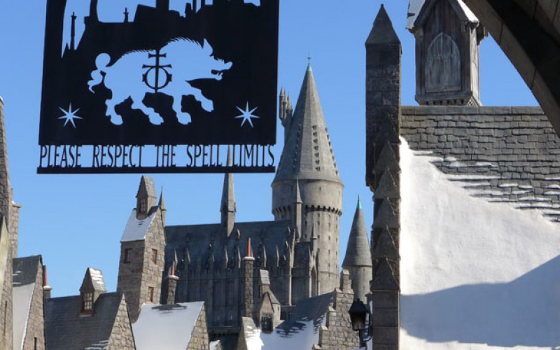 Wizarding World of Harry Potter Nearing Completion at Universal Studios Hollywood!