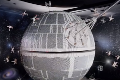 Behold the awesome brick power of this fully operational Death Star at Legoland Windsor!