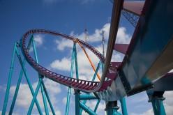 Mako adds final piece of track at SeaWorld Orlando