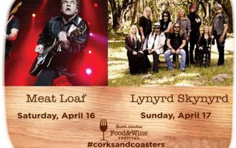 behind the thrills legends descend on busch gardens tampa s food wine with meat loaf and