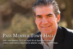 SeaWorld's Joel Manby to hold public forum in park for passholders