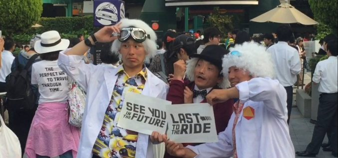 Back to the Future is erased from existence as Universal Japan closes the last remaining ride