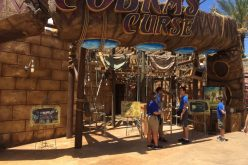 Walls come down on Cobra's Curse at Busch Gardens Tampa!