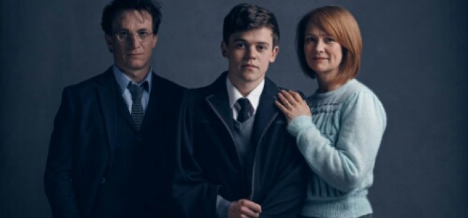 First look at Harry, Ginny, and Albus Severus from Harry Potter and the Cursed Child!