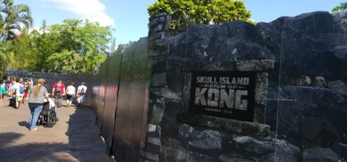 Kong construction update-When will Universal Orlando's new ride open?