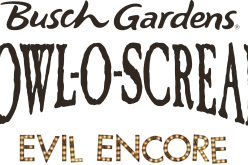 """Evil Encore"" happening at Busch Gardens Williamsburg for Howl O Scream!"