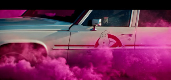 Catch a ride in Ecto-1 from Ghostbusters and Lyft