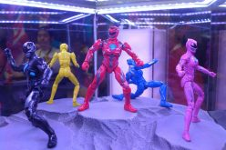 SDCC 2016: First Look at new Power Ranger film version toys!