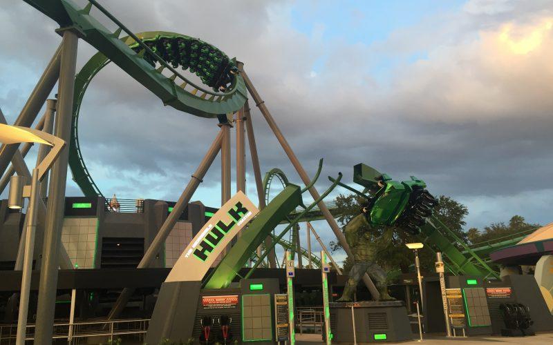 Hulk smashes through walls at Universal Orlando, as opening gets closer!