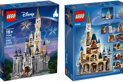 Disney and Lego unveil 4,000 piece Cinderella Castle that you can buy and build!