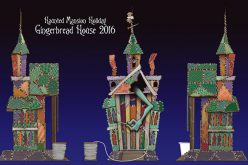 Disneyland Reveals 2016 Haunted Mansion Holiday Gingerbread House