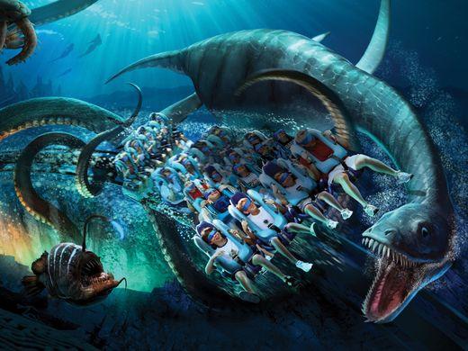SeaWorld mixes virtual reality in roller coaster