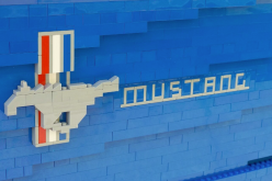 Meet #BrickPony the classic Ford Mustang coming to Legoland Florida!