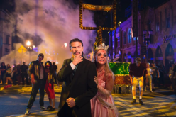 Steven Tyler spends Halloween at Halloween Horror Nights Orlando
