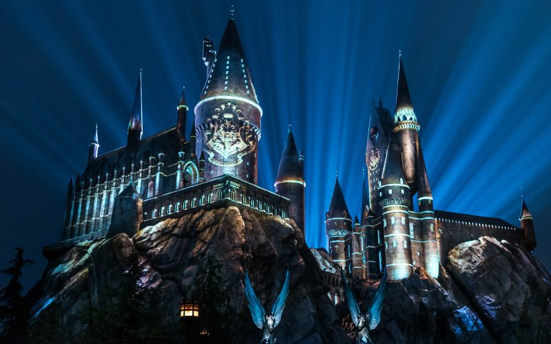 Hogwarts Nighttime Lights castle show coming to Islands of Adventure