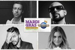 You'll see stars at Universal Orlando as full Mardi Gras 2018 line up announced!