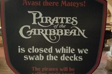 Farewell to the Redhead! Disney closes Pirates to change iconic scene