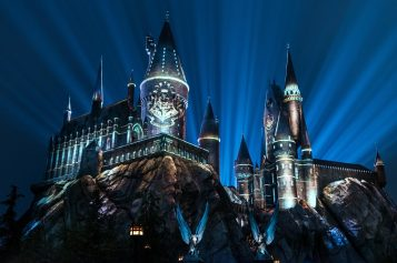 """""""The Nighttime Lights"""" Return to Hogwarts Castle at Universal Studios Hollywood in March"""