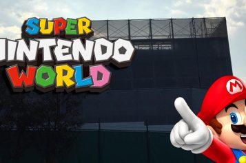 Super Nintendo World goes vertical!